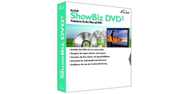 ArcSoft ShowBiz DVD 2