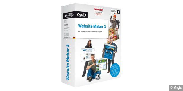 Magix Website Maker 3