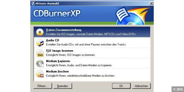 Download des Tages: CDBurner XP.