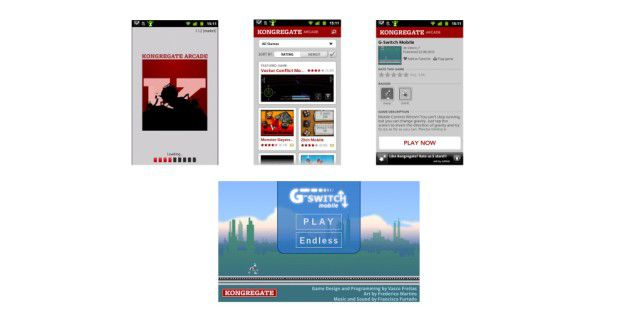 Kongregate bringt Flash-Games auf Android-Smartphones.
