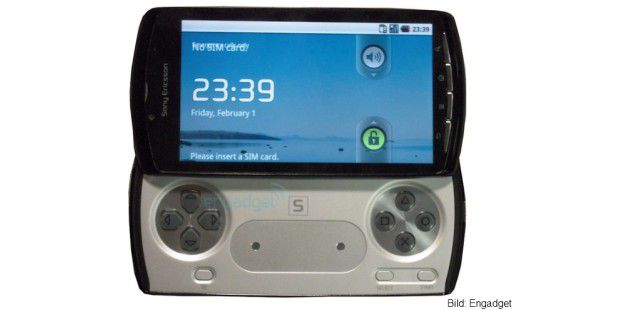Playstation-Smartphone (Bild: Engadget)