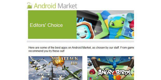 Googles neuer Android Market