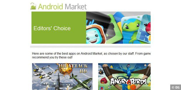 Googles neuer Android Market