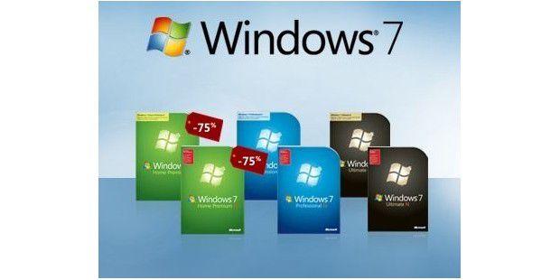 Windows 7 Verkauf hat begonnen