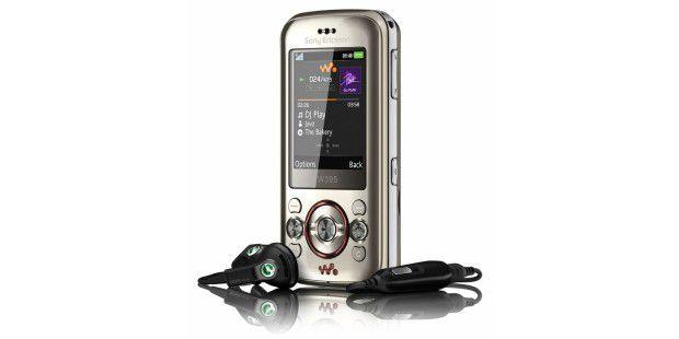 Satter Sound aus dem Stereo-Lautsprecher: Sony Ericsson W395