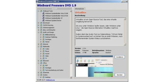 Freeware-DVD 1.9