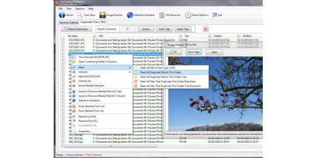 Mit Duplicate Cleaner finden Sie doppelte Dateien.