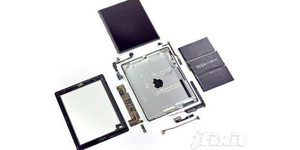 iPad 2 aufgeschraubt [Foto: iFixit.com]
