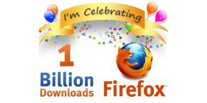 Firefox feiert 1 Milliarde Downloads