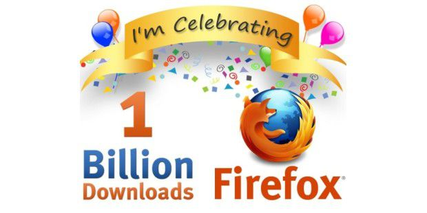 1 Milliarde Firefox-Downloads