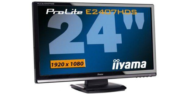 Iiyama Prolite E2407HDS: Full-HD-Auflösung, niedriger Stromverbrauch
