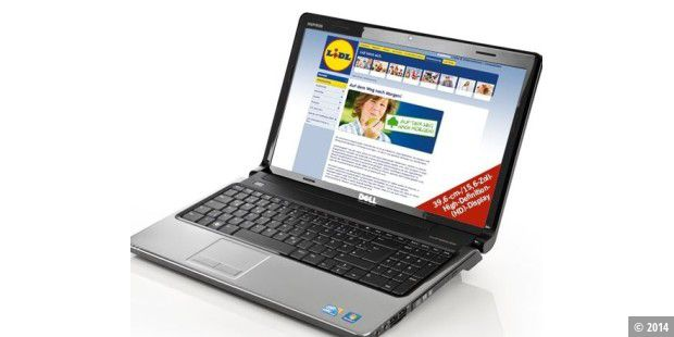 Dell-Notebook bei Lidl