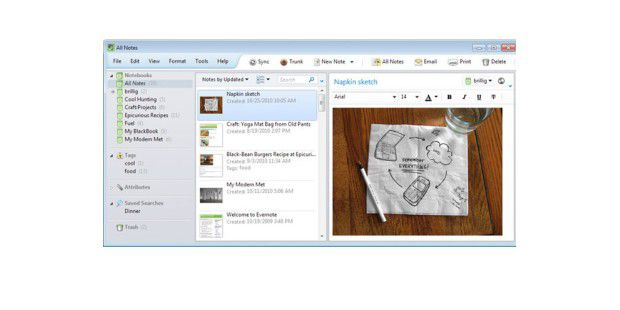 Evernote 4 für Windows erschienen