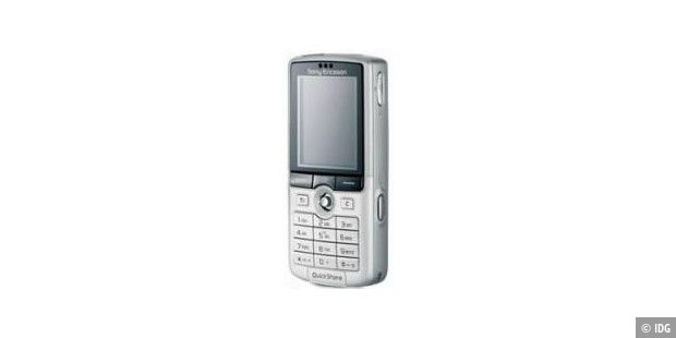 Sony Ericsson K750i Silver Edition bei O2 Germany