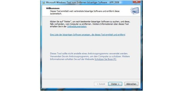 Malicious Software Removal Tool 1.40