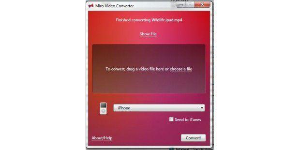 Miro Video Converter
