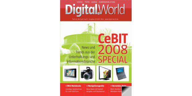 Digital.World ePaper 04/2008 CeBIT 2008