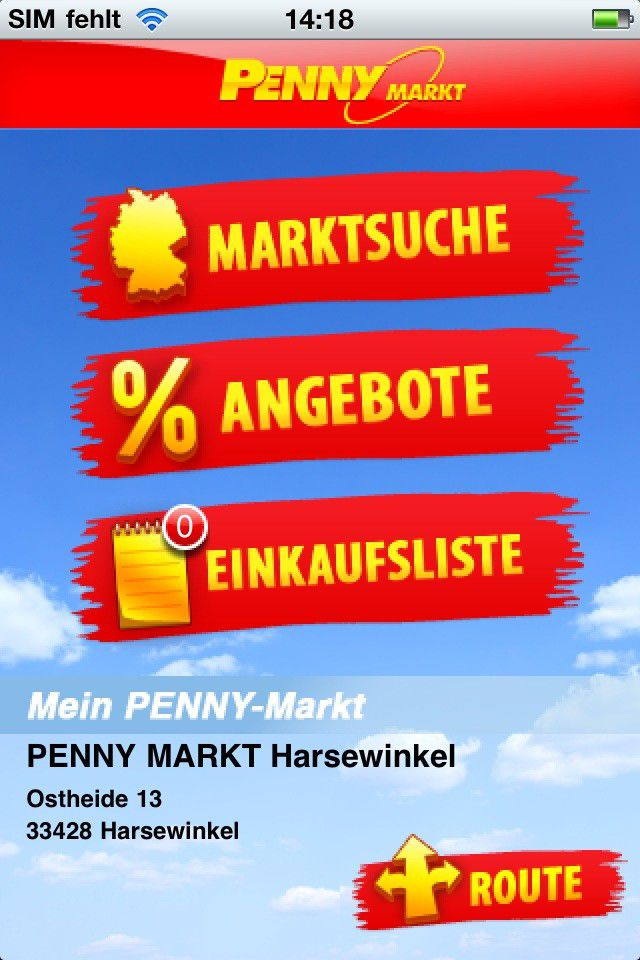 Test Der Iphone App Penny Markt 121 Pc Welt