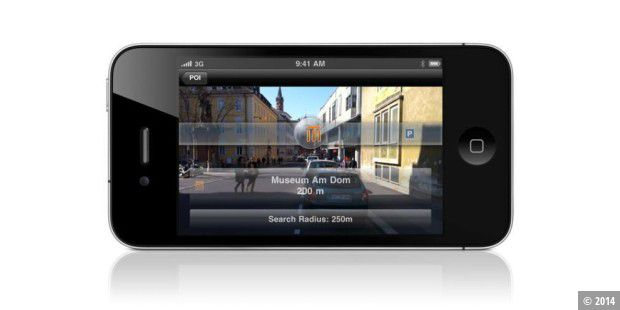 "Navigon iPhone-Update bringt ""Augmented Reality"""