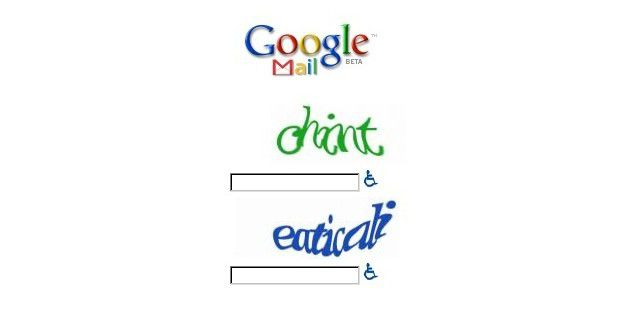 Google Mail-CAPTCHAs