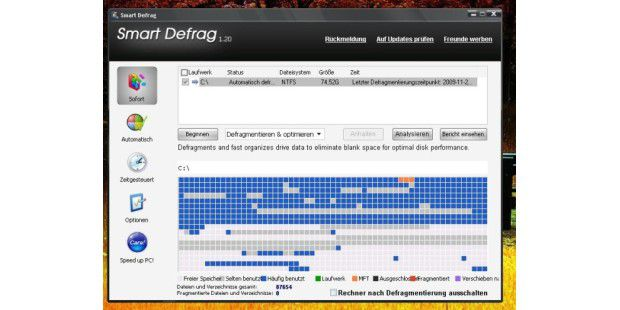Download des Tages: SmartDefrag