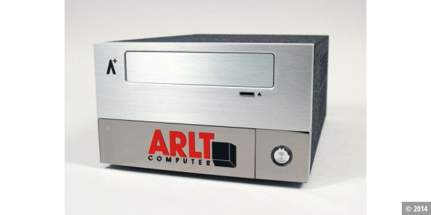 Arlt Mediabox 7 Intel Atom N330 im Test