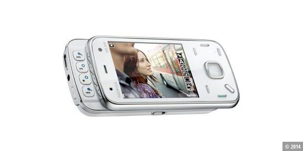 Nokia N86 8MP: brillantes Display