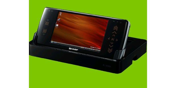 Sharp Willcom D4 ultramobile PC