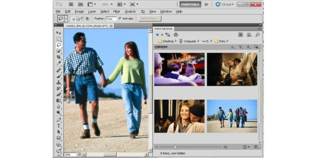 Adobe Photoshop CS5: Standard in der digitalen Bildbearbeitung