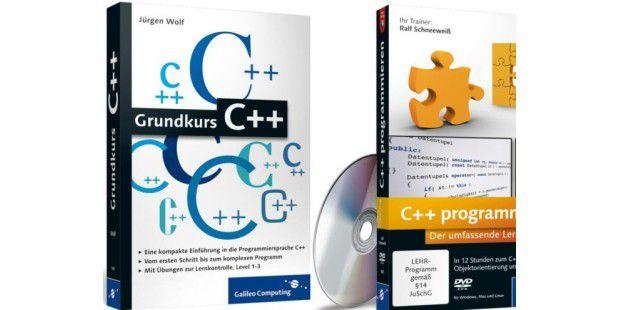 C++ lernen mit Grundkurs und Video-Training