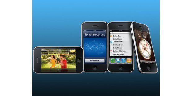 Das iPhone 3G S ist das aktuellste Smartphone von Apple.