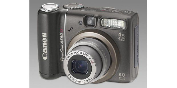 Canon A590 Front