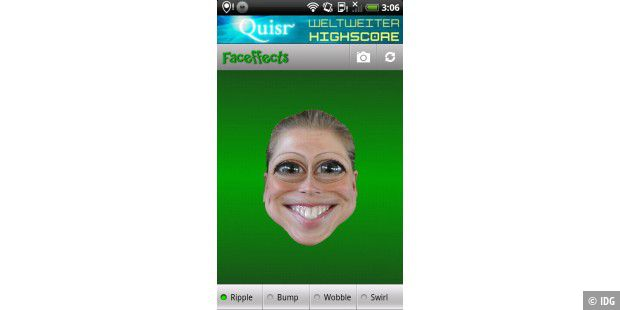 "Android-App ""Faceffects"""