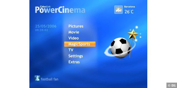 Cyberlink PowerCinema Fußball Edition