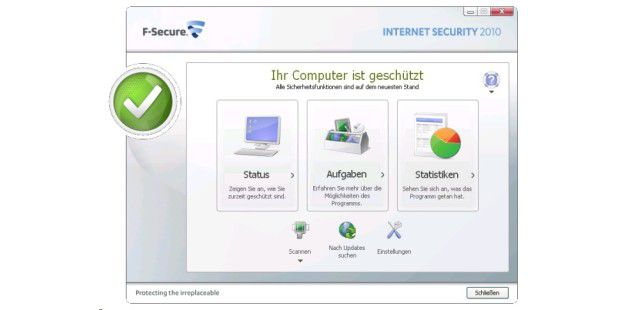 F-Secure: neues Bedienkonzept