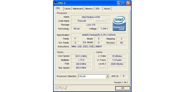 Download des Tages: CPU-Z
