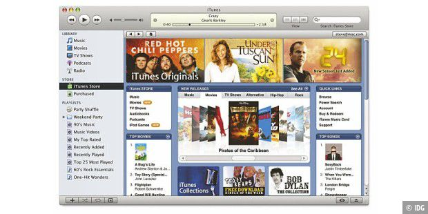 Apple iTunes 7 Store