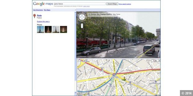 Street View in Paris