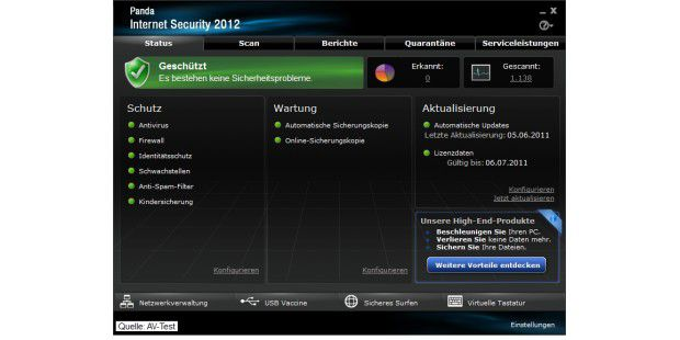Panda Internet Security 2012