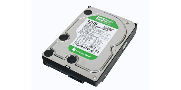 Festplatte im Test: Western Digital Caviar Green WD10EARS