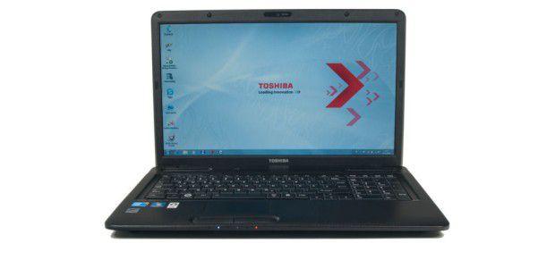 Business-Notebook mit 17-ZollBildschirm: Toshiba Satellite L670-170 im Test