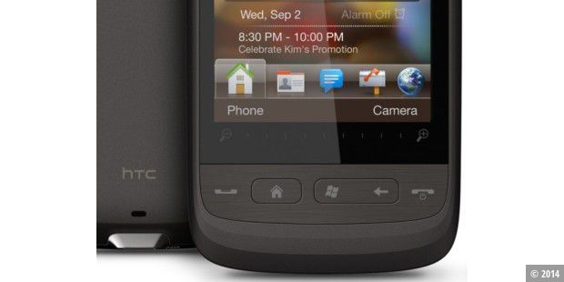 HTC Touch 2: Smartphone mit Windows Mobile 6.5 im Test