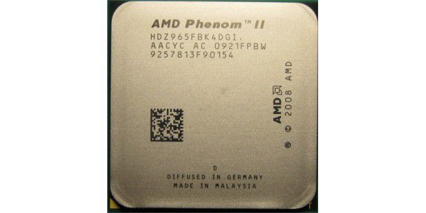 Quad-Core-CPU AMD Phenom II X4 965 Black Edition im Test