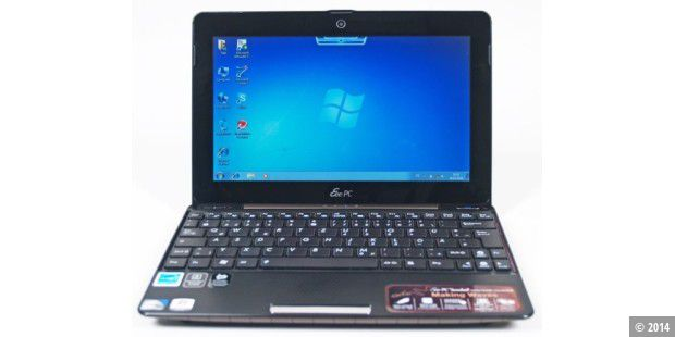 Design-Netbook im Test: Asus Eee PC 1008P