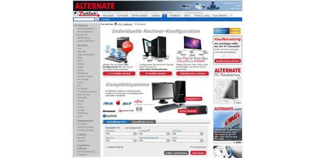 Auf Alternate (www.alternate.de) können Sie ihren Rechnervöllig frei selbst zusammens