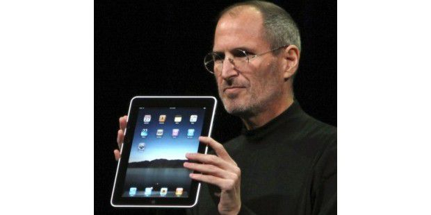 Steve Jobs stellt Apple Tablet iPad vor