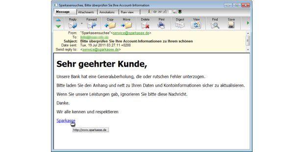 Sparkassen-Phishing