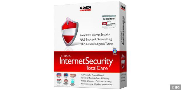 G DATA InternetSecurity TotalCare