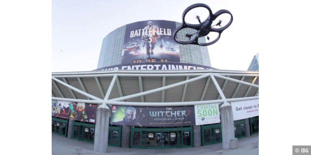 Parrot A.R Drone auf der E3 in Los Angeles