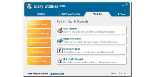 Download: Glary Utilities